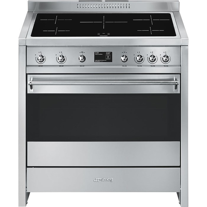 A1PYID-9 90cm Opera Electric Range Cooker Stainless Steel