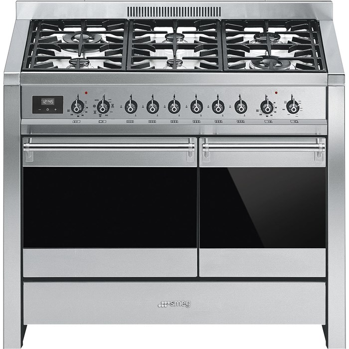 A2-81 100cm Opera Dual Fuel Range Cooker Stainless Steel