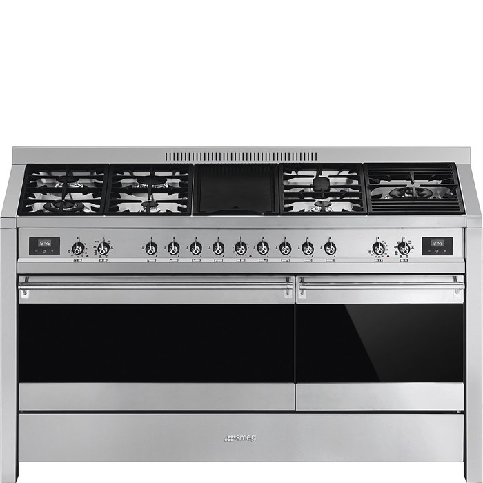 A5-81 150cm Opera Dual Fuel Range Cooker Stainless Steel