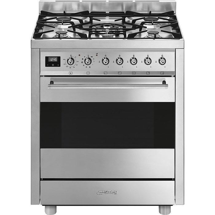 C7GPX9 70cm Symphony Dual Fuel Cooker Stainless Steel
