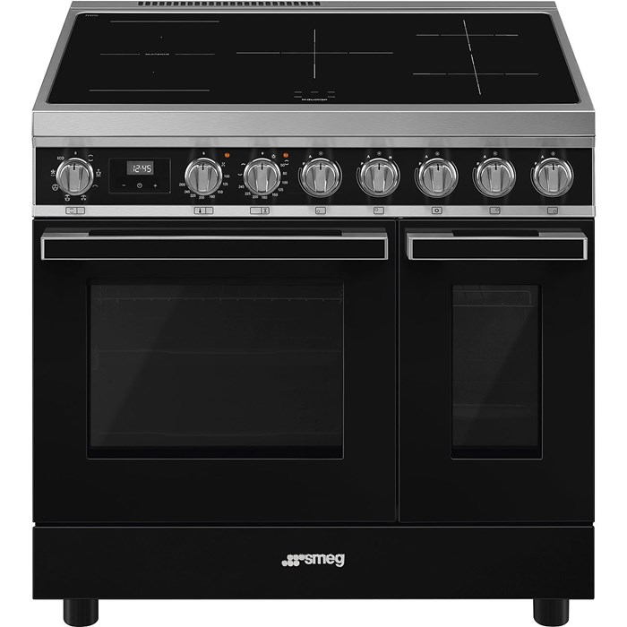 CPF92IMBL 90cm Portofino Electric Range Cooker Black