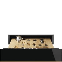 CPS615NR 15cm Height Dolce Stil Novo Sommelier Drawer Black and Copper Trim