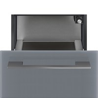 CR129S 29cm Height Linea Warming Drawer Silver
