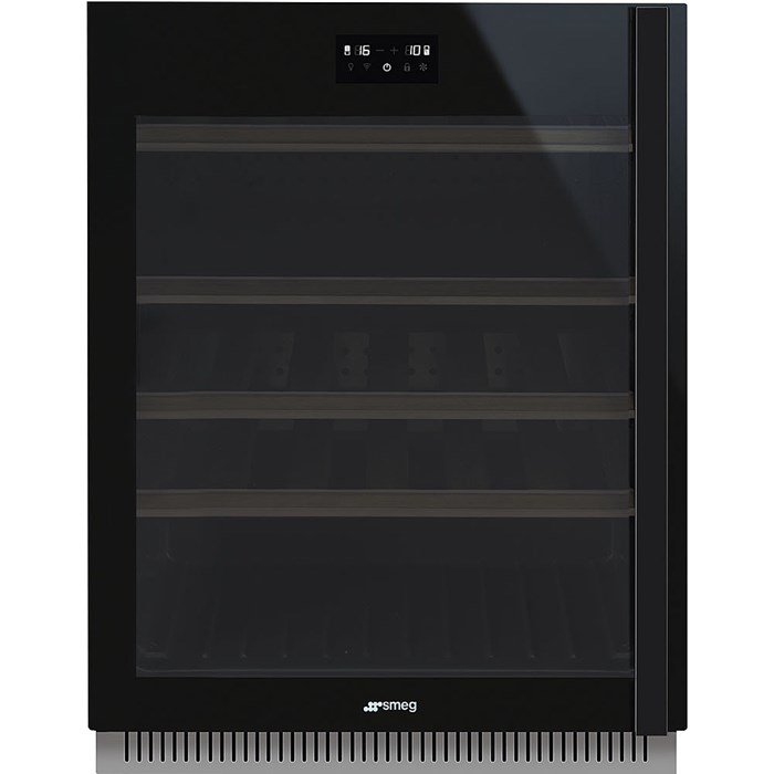 CVI638LWN2 60cm Dolce Stil Novo U/C Wine Cooler with LH Hinge Eclipse Glass