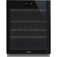 CVI638LWN3 60cm Dolce Stil Novo U/C Wine Cooler with LH Hinge Eclipse Glass