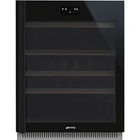 CVI638RWN3 60cm Dolce Stil Novo U/C Wine Cooler with RH Hinge Eclipse Glass