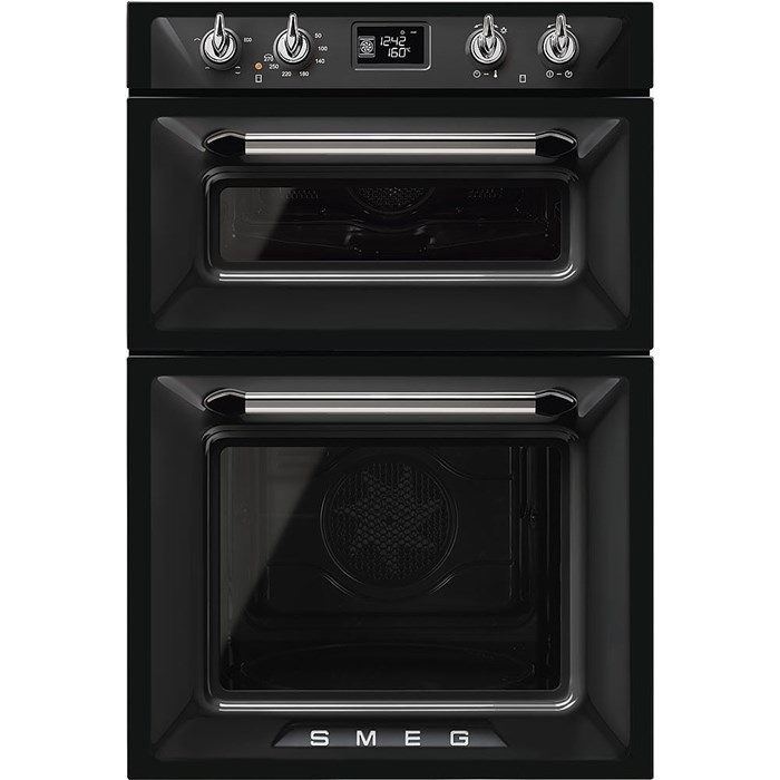 DOSF6920N1 Victoria Double Oven in Black