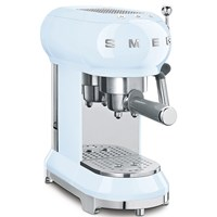 ECF01PBUK Espresso Coffee Machine in Pastel Blue