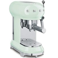 ECF01PGUK Espresso Coffee Machine in Pastel Green