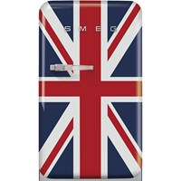 FAB10RDUJ2 55cm Fridge with Icebox, Right Hand Hinge, Union Jack