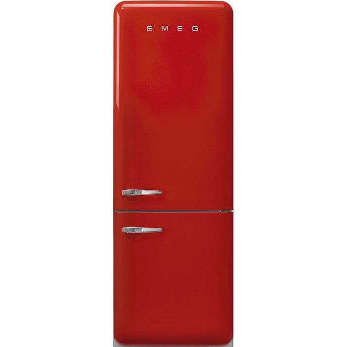 FAB38RRD 70cm 50s Style Right Hand Hinge Fridge Freezer Red