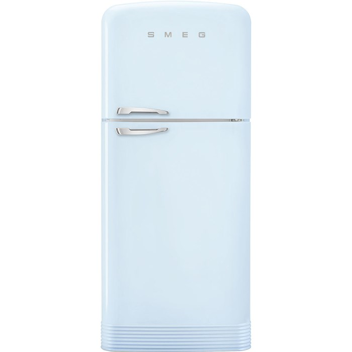 FAB50RPB5 80.4cm 50s Style Right Hand Hinge Fridge Freezer Pastel Blue