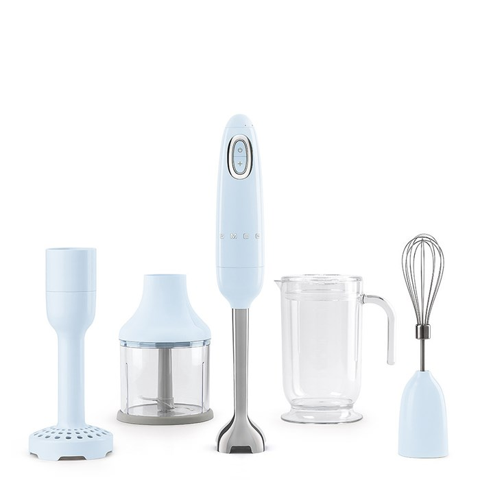 HBF02PBUK Hand Blender with Accessories in Pastel Blue