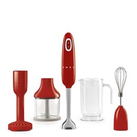 HBF02RDUK Hand Blender with Accessories in Red