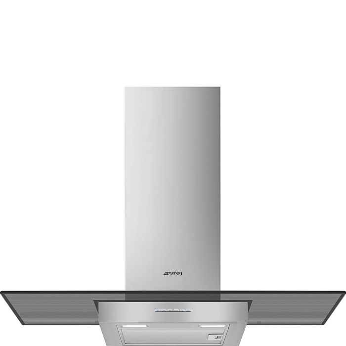 KBT900VE 90cm Chimney Hood Stainless Steel & Glass