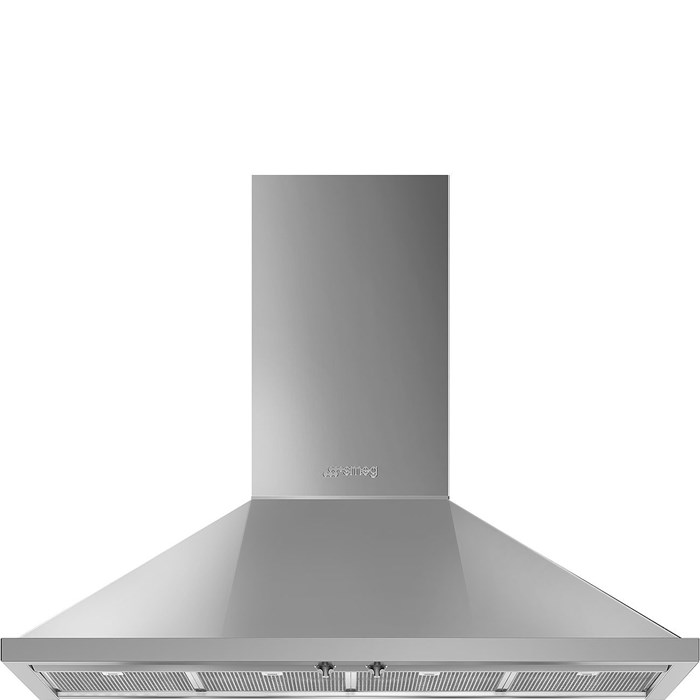 KPF12X 120cm Portofino Chimney Hood Stainless Steel