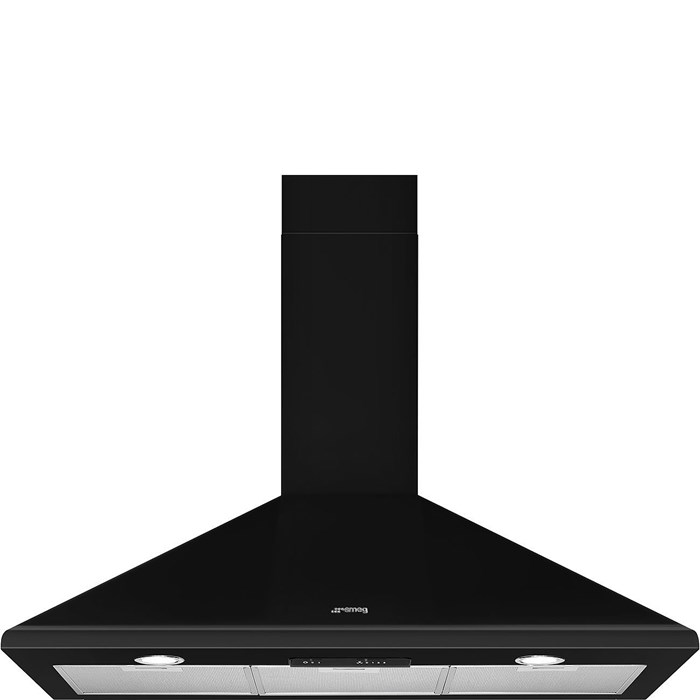KSED95NEE 90cm Chimney Hood Black