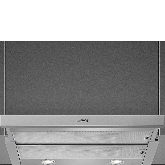KSET600XE 60cm Telescopic Hood with Stainless Steel Front Panel