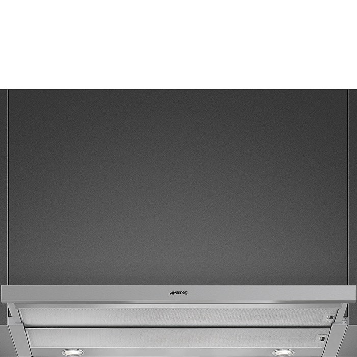 KSET900XE 90cm Telescopic Hood with Stainless Steel Front Panel