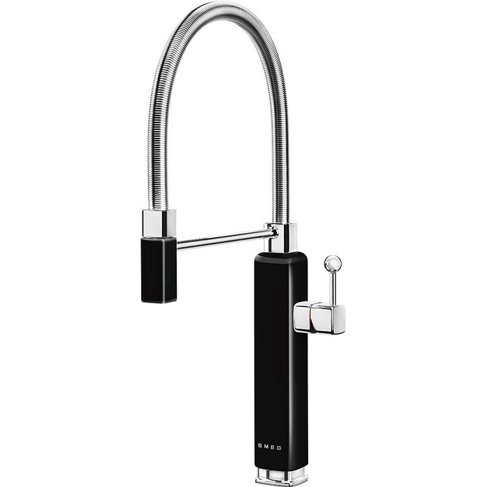 MDF50BL 50s Style Mixer Tap Black