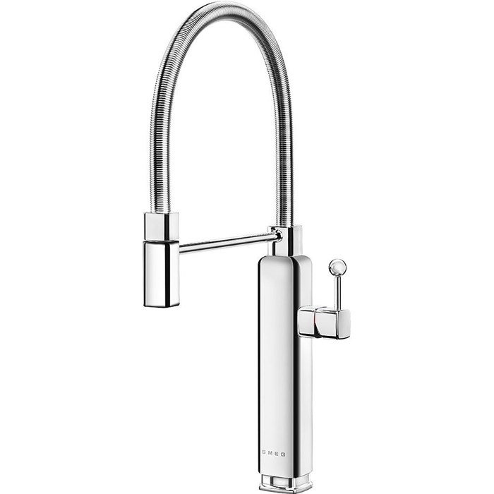 MDF50SS 50s Style Mixer Tap Stainless Steel