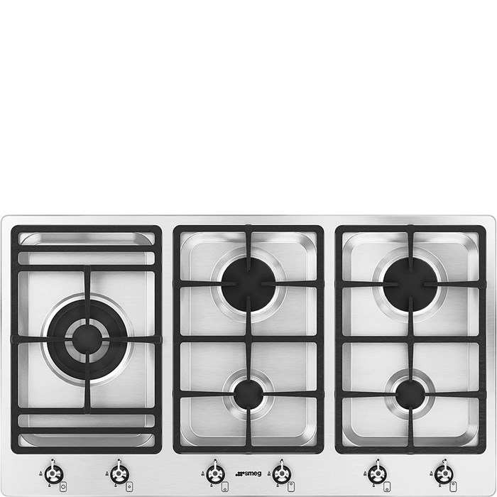 PS906-5 90cm Classic Gas Hob Stainless Steel