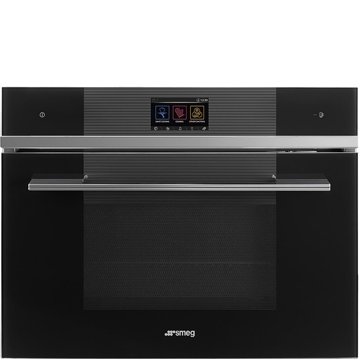 SF4104WVCPN 45cm Linea Combi Steam Oven with Vivo Touchscreen and Wi-Fi in Black