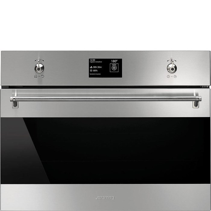 SF4390VCX1 Compact 45cm Classic Steam Oven in Stainless Steel