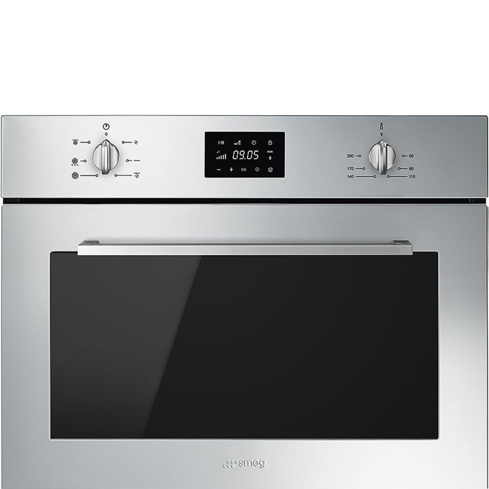 SF4400MCX Compact 45cm Cucina Combi Microwave in Stainless Steel