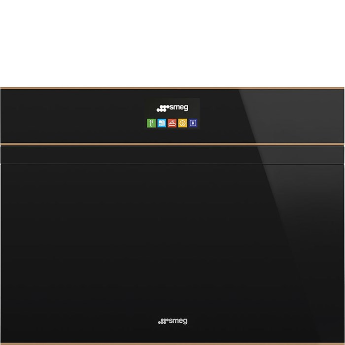 SF4604PVCNR1 Compact 45cm Dolce Stil Novo Steam Oven with Copper Trim