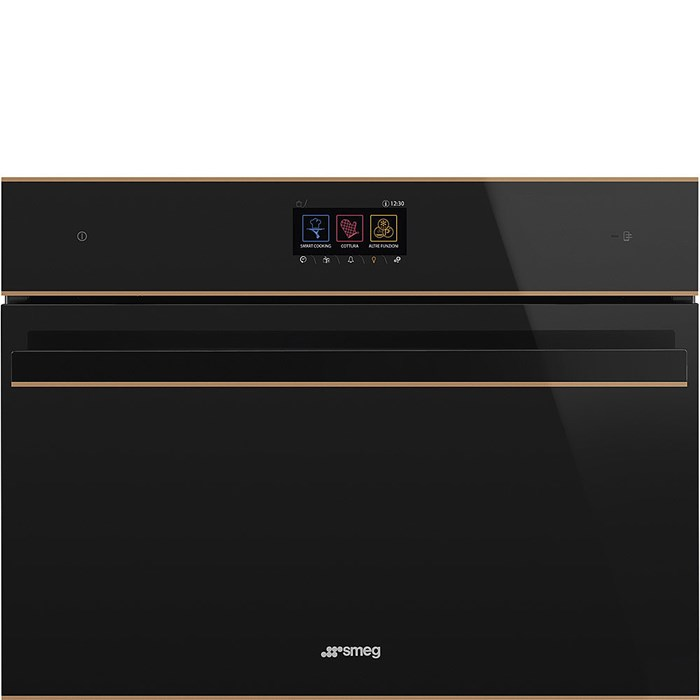 SF4604WMCNR Compact 45cm Dolce Stil Novo Combi Microwave with Copper Trim
