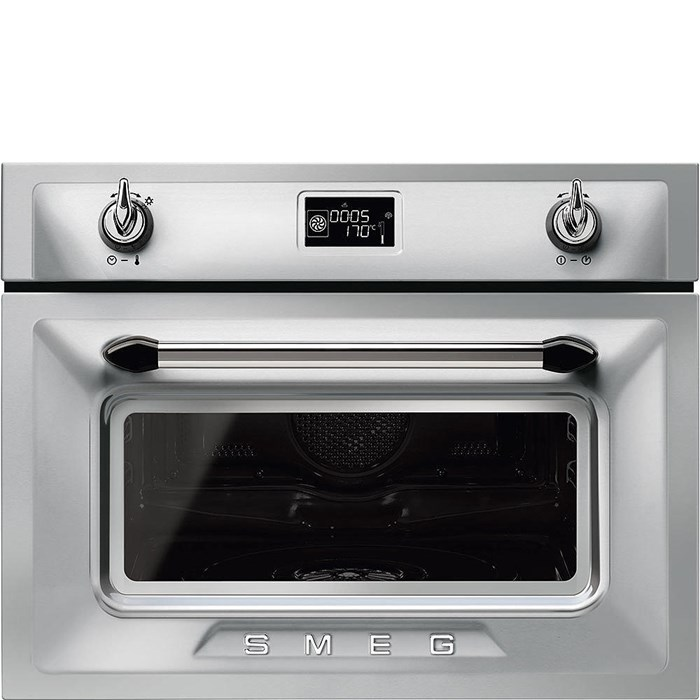 SF4920VCX1 Compact 45cm Victoria Combi Steam Oven in Stainless Steel