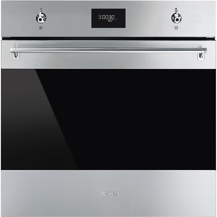 SF6301TVX 60cm Classic Single Oven in Stainless Steel