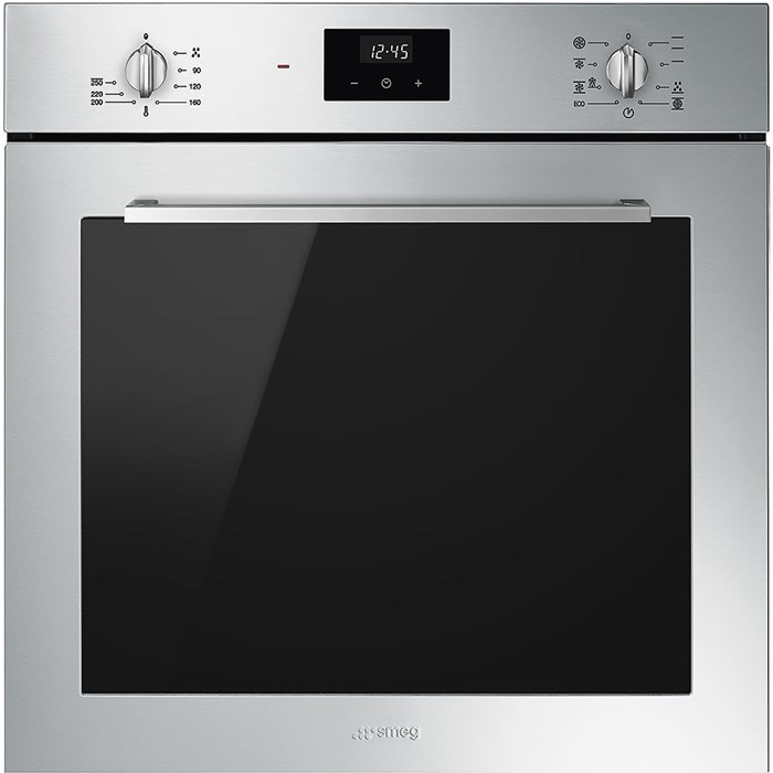 SF6400TVX 60cm Cucina Single Oven in Stainless Steel