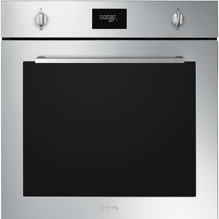 SFP6401TVX1 60cm Cucina Pyrolytic Single Oven in Stainless Steel