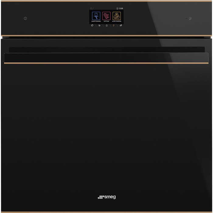 SFP6604WTPNR 60cm Dolce Stil Novo Pyrolytic Single WiFi Oven with Copper Trim