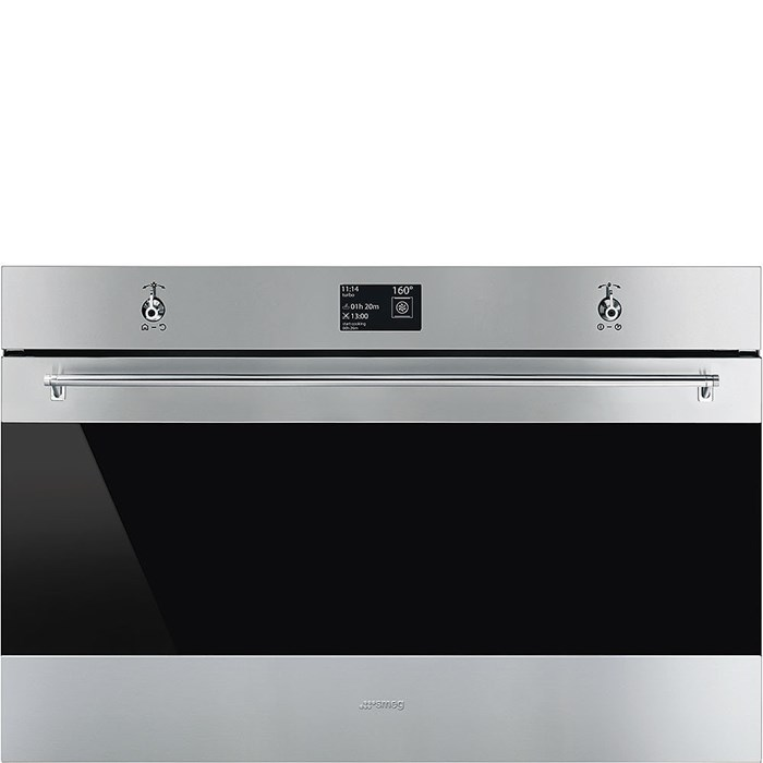 SFP9395X1 90cm Classic Pyrolytic Single Oven in Stainless Steel