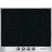 SI964XM 60cm Victoria Induction Hob with Stainless Steel frame