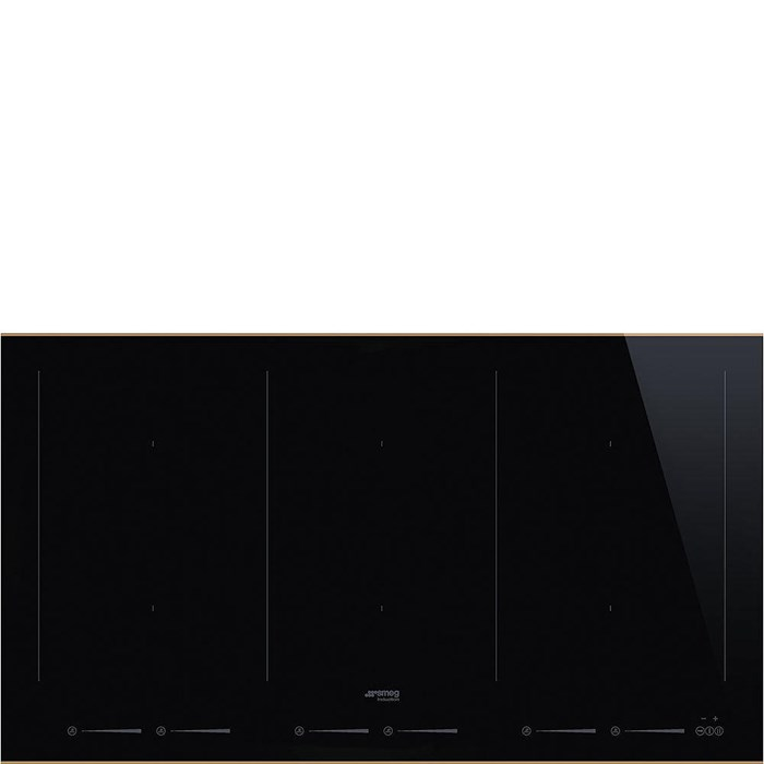 SIM693WLDR 90cm Dolce Stil Novo Induction Hob with Copper Trim