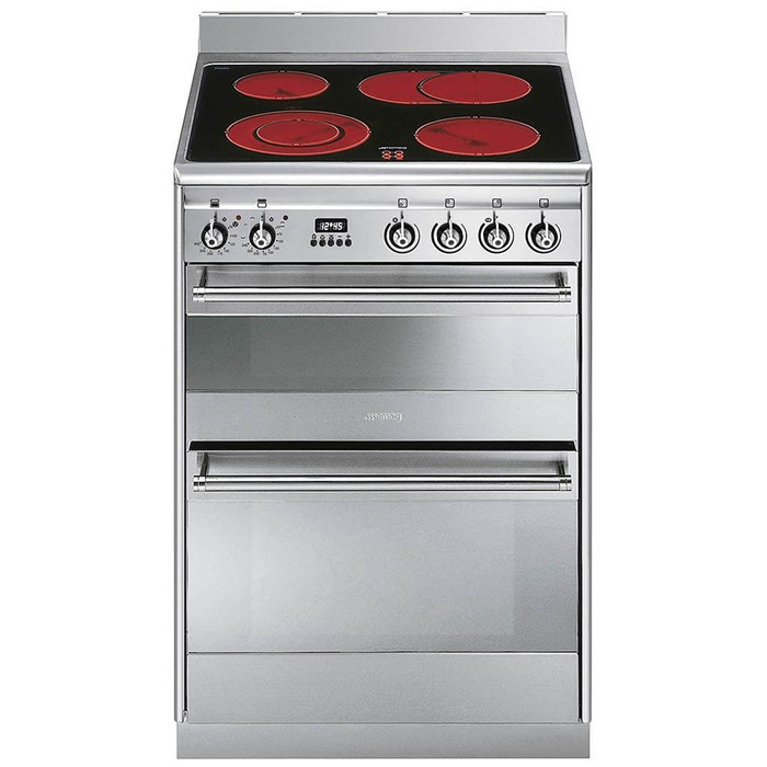 SUK62CMX8 60cm Concert Electric Cooker Stainless Steel