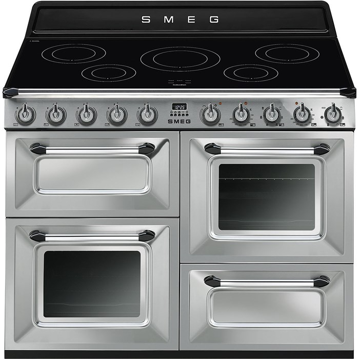 TR4110IX-1 110cm Victoria Electric Range Cooker Stainless Steel
