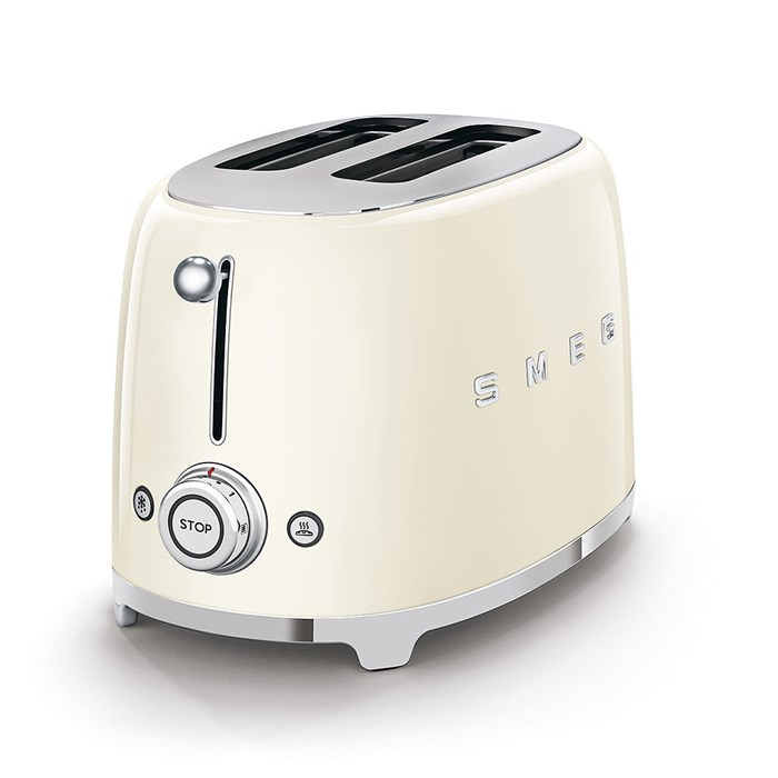 TSF01CRUK Two Slice Toaster in Cream