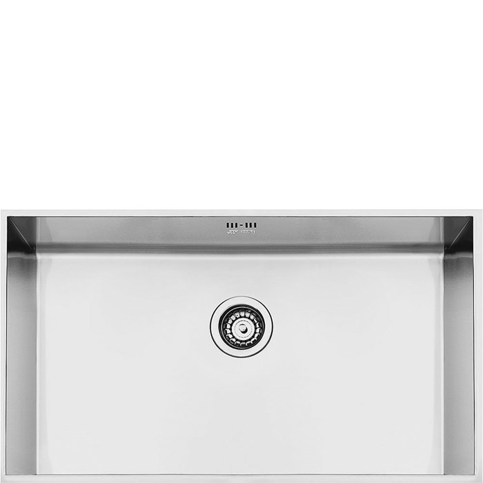 VSTQ72-2 72cm Quadra Single Bowl Undermounted Sink Stainless Steel